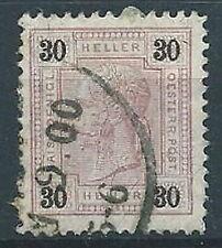 1905 AUSTRIA USATO EFFIGIE 30 H - A130