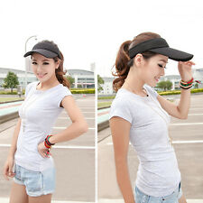 Fashion Women Man Golf Cotton Summer Sun Visor Sport Hats Tennis Baseball Caps