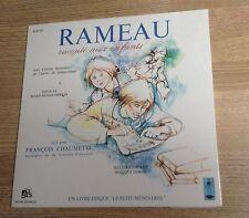 Livre-disque CLASSIQUE JEUNESSE Rameau raconté aux enfants François Chaumette *