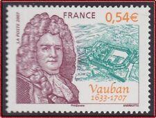 2007 FRANCE N°4031** Sébastien Le Prestre de Vauban, France 2007 MNH