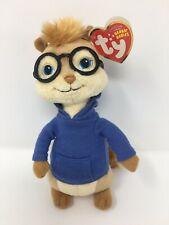Ty Beanie Babies SIMON Alvin and the Chipmunks The Squeakquel NEW With Tag