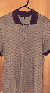 Mens Gucci Polo Shirt XXL Slightly Used Condition