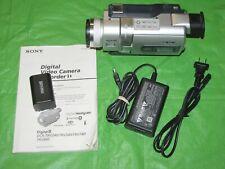 Sony Handycam Dcr-Trv840 Digital-8 Camcorder - Records Transfer Watch Video8 Hi8
