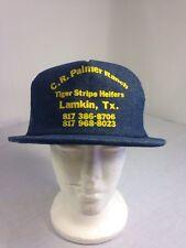 "Trucker Hat, ""Tiger Stripe Heifers"" C.R. Palmer Ranch Lamkin TX, Red Neck."
