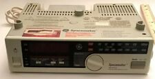 GE Spacemaker AM FM Clock Radio With Light and Outlet - Model No 7-4230A