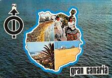 Spain Gran Canaria Playa Beach Promenade Hotel Folklore Lighthouse