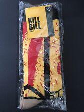 Loot Crate Exclusive Kill Bill Vol 1 Movie Red Yellow Blood Splatter Fun Socks