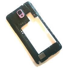 100% ORIGINALE Samsung Galaxy nota III 3 PINK FRAME POSTERIORE + fotocamera vetro + ALTOPARLANTE
