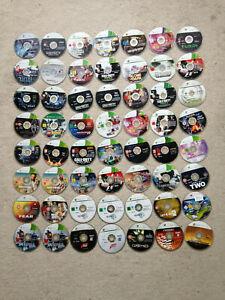 56 x Xbox 360 Disc Bundle/Joblot *Read Description* B/N Lot 1
