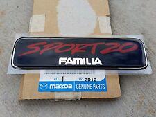 Mazda BJ Familia Sport 20 Familia decal NEW 323