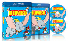 Dumbo (1940) - (BLU-RAY/DVD 2-Disc Set)