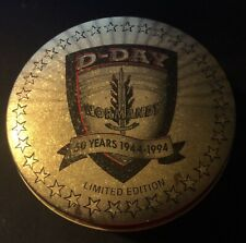 Zippo Lighter D-Day 50 Yesr Anniversary Lighter Emblem With Tin Collectable
