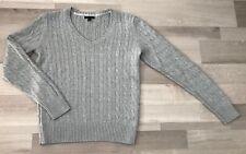Wunderschöner Pullover von Tommy Hilfiger Gr. XL 40/42 - Zopfmuster