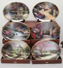 THOMAS KINKADE DAILY GIFTS FROM GOD'S GARDEN PLATE COLLECTION CALENDAR 2001 BOX
