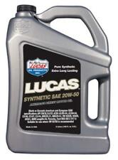 LUCAS OIL Synthetic 20W-50 Motor Engine Oil - 5 Litres - 10135A