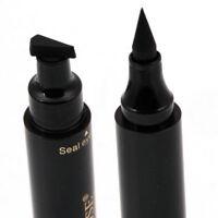 Winged Eyeliner Stamp Waterproof Makeup Cosmetic Eye Liner Pencil Liquid Black N