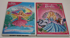 "Two Barbie DVD's:  ""Magic of the Rainbow"" & The Island Princess"""