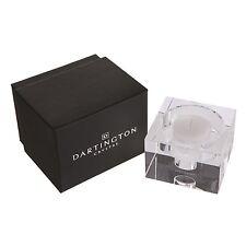 Dartington Crystal Candlelight Block Candle Holder 50mm