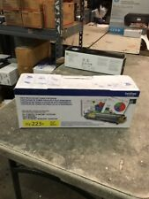 Brother TN-225 Yellow HL-3140CW HL-3170CDW MFC-9130CW Open Box Open Bag