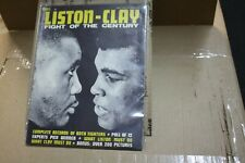 Cassius Clay Sonny Liston Fight of the Century Magazine 1964 Muhammad Ali RARE!