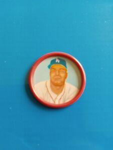1963 Salada Tea Junket Baseball Coin #9 Johnny Podres ExMt Los Angeles Dodgers