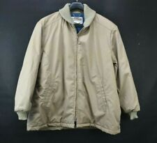 Vintage Amana Men's Size XXL Tan Made For Woolen Mill Saleroom Coat Jacket