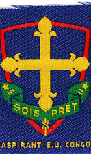 Boy Scout Badge Membership SOIS PRET Aspirant E.U. Congo
