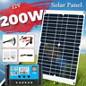 200W Solar Panel Kit 20A 12V Battery Charger with Controller Caravan Boat 2 USB
