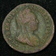 1776 S AUSTRIA 1/2 KREUZER COIN 21MM - FINE CONDITION
