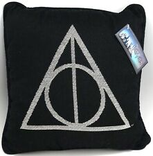 """New Universal Wizarding World Of Harry Potter Deathly Hallows 13"""" Throw Pillow"""