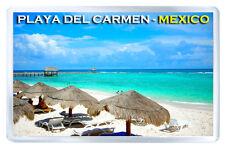 PLAYA DEL CARMEN MEXICO FRIDGE MAGNET SOUVENIR IMAN NEVERA