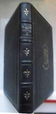 Französische Antiquarische Bücher aus Leder