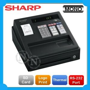 Sharp XE-A107 Cash Register with Locking Cash Drawer UPGRADE to XE-A147 *BLACK*