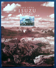 Prospekt brochure 1994 Isuzu Rodeo (USA)