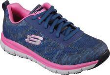 Redundante Trascendencia Hollywood  Las mejores ofertas en Skechers Trabajo y Seguridad Zapatos Cómodos Azul  para Mujeres | eBay