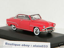 SIMCA ARONDE GRAND LARGE 1953 WHITE/RED WHITEBOX 1/43 Ref WHT111