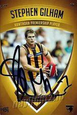 ✺Signed✺ 2011 HAWTHORN HAWKS AFL Premiers Card STEPHEN GILHAM