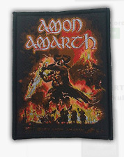 AMON AMARTH - SURTUR RISING - WOVEN PATCH - BRAND NEW - MUSIC BAND 2658
