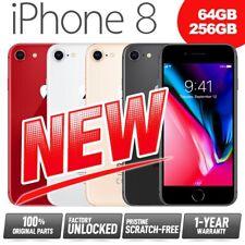(NEW) Factory Unlocked SIM-Free Apple iPhone 8 64GB 256GB