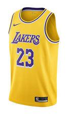 Nike LeBron James Icon Edition Swingman Men's Jersey (LA Lakers), Amarillo/Field Purple/White - Size L