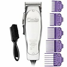 Andis Fade Master #01690 - DOUBLE Magnetic Comb Set #01410 - BeauWis Blade Brush
