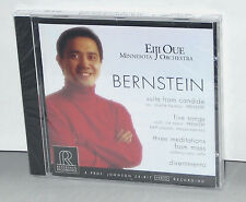 Reference Recordings RR-87CD: Bernstein, Various - Eiji Oue, TAS 1999 USA SEALED