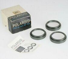 Polaroid Close-Up Kit #550 Lens-Plus 1, Lens-Plus 2, Lens-Plus 3