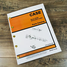 J I Case W20b Articulated Loader Parts Manual Catalog Exploded Views