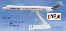 Flight Miniatures Reno Air McDonnell Douglas MD 90 1:200 Scale Display w/ Stand