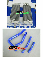 FOR SUZUKI RM250 RM 250 1996 -1998 1997 1996 1997 Aluminum Radiator and hose