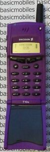 Ericsson T10 PURPLE DUMMY NON WORKING DISPLAY MODEL Mobile Phone