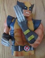 Wolverine X-Men Bust Bank Marvel Comics Bust Piggy Bank NEW