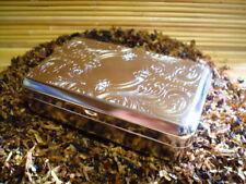 Tabakdose Nickel Venetian 11 x 7 x 3 cm  Neu