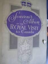 Souvenir Album Of The Royal Visit To Canada- King George VI & Queen Elizabeth- P